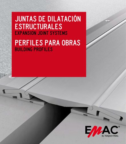 EXPANSION JOINT SYSTEMS AND BUILDING PROFILES BROCHURE