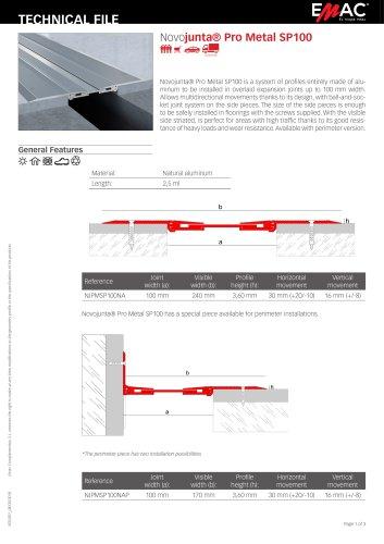 Novojunta® Pro Metal SP100