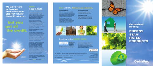 ENERGY STAR® RATED PRODUCTS