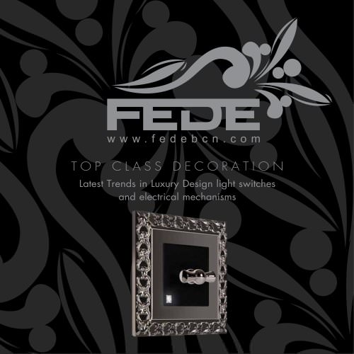 2010 NEW FEDE ENGLISH GENERAL CATALOGUE