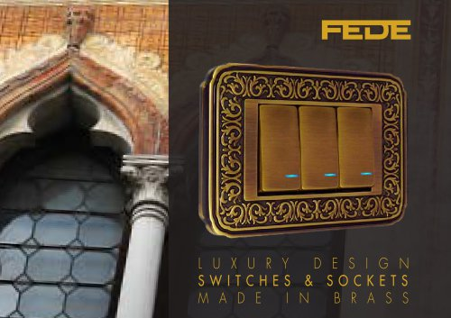 2016 FEDE ITALIAN LUXURY SWITCH CATALOGUE