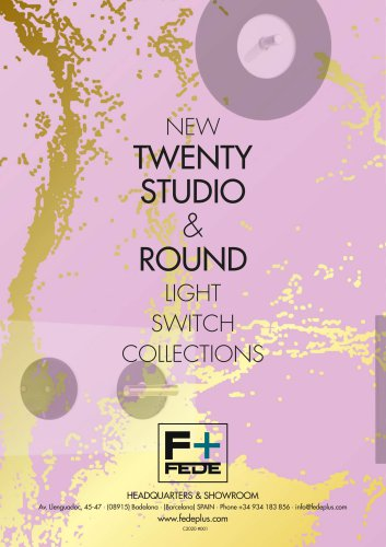 TWENTY, STUDIO & ROUND COLLECTIONS 2020