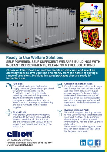 EVOLUTION® WELFARE PACKS BROCHURE