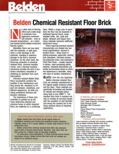 Chemical Resistant Floor Brick