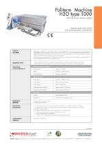 Politerm Machine:H2O type 1000