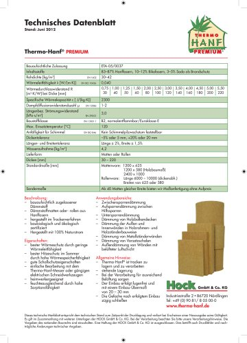 Thermo-Hanf® PLUS