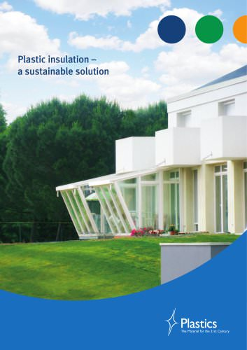 Plastic insulation –  a sustainable solution