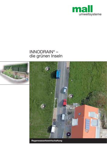 INNODRAIN® – die grünen Inseln