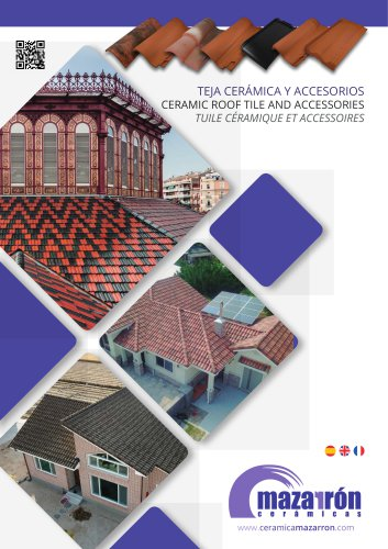 CERAMIC ROOF TILE AND ACCESSORIES