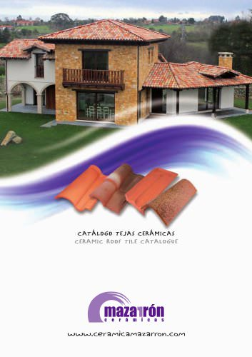 CERAMIC ROOF TILE CATALOGUE