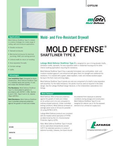 Mold Defense Shaftliner TX