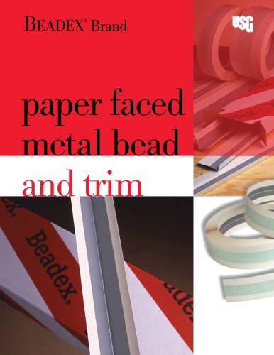 Beadex Paper-Faced Bead and Trim Catalog J1688