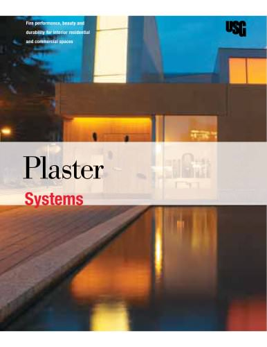 Plaster Systems Brochure