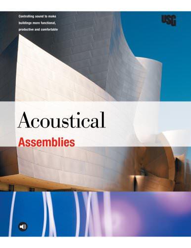 USG Acoustical Assemblies Brochure