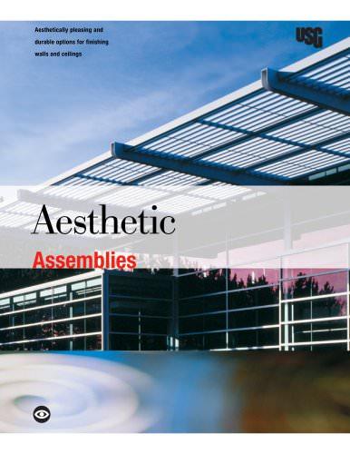 USG Aesthetic Assemblies Brochure - SA933