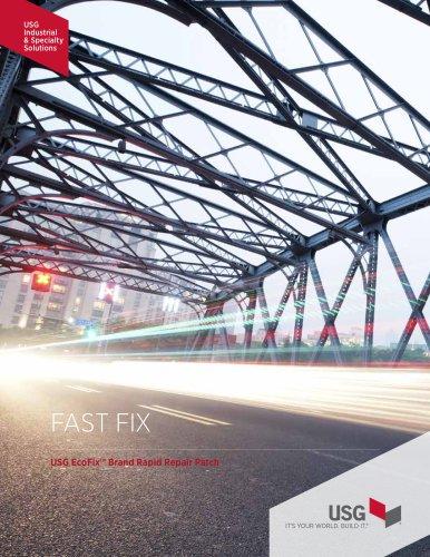 USG EcoFix™ Brand Rapid Repair Patch