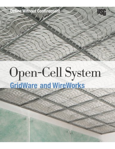 USG GridWare™ and USG WireWorks™ Open-Cell System