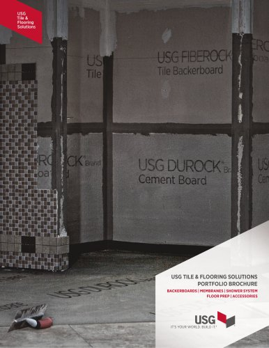 USG Tile and Flooring Portfolio Brochure