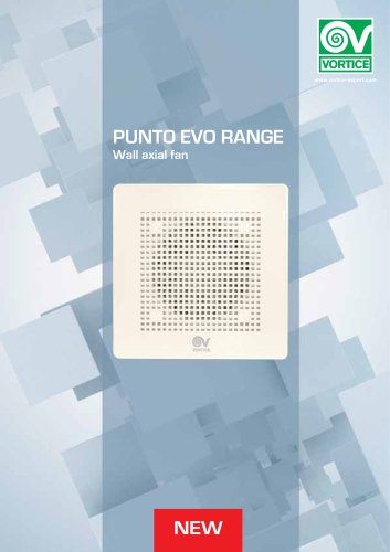 Punto Evo RANGE Wall axial fan