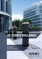 JS-SERIES BOLLARDS - NEW HIGH SECURITY RANGE