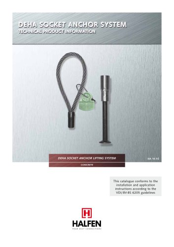 DEHA Socket Anchor System