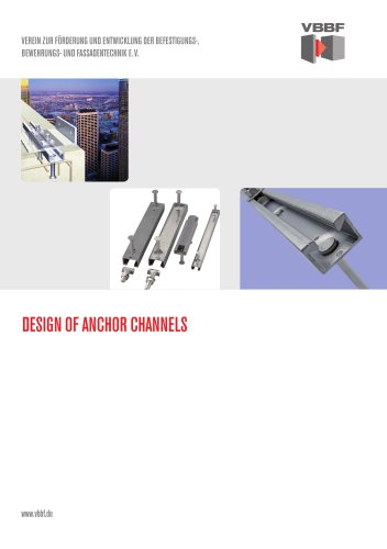 DESIGN OF ANCHOR CHANNELS
