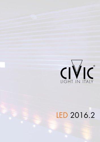 LED civic 2016.2