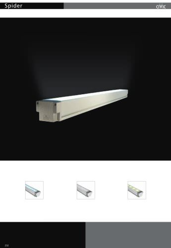 Led exterior wall light SPIDER