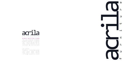 BROCHURE ACRILA SEPT 2014