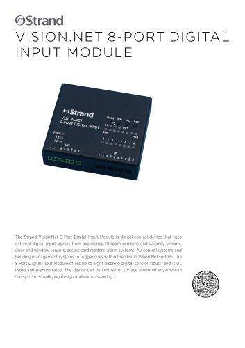 Vision.Net 8-Port Digital Input Module