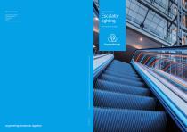 Escalator lighting