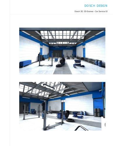 3D-Scenes - Car Service 02