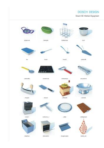 Dosch 3D: Kitchen Equipment