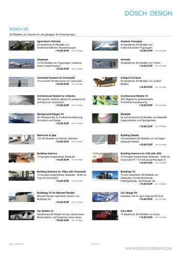 Dosch Design - Produktübersicht