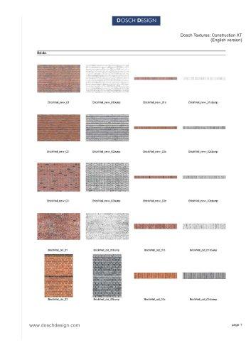 DOSCH Textures: Construction XT