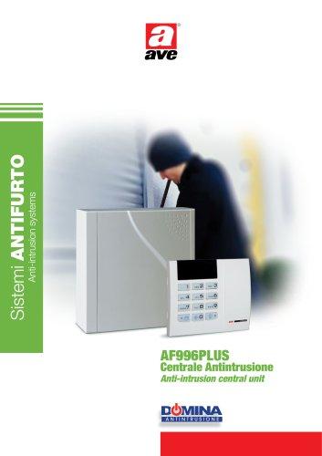Anti-intrusion central unit AF996PLUS