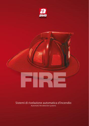 Sistemi di rivelazione automatica d'incendio