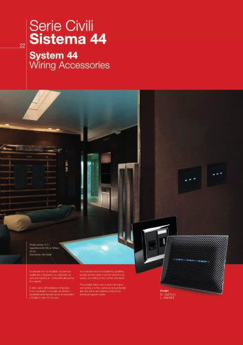 System 44 Wiring Accessories