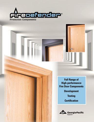 Firedoor Components:FireDefender Banded Cores(door protection)
