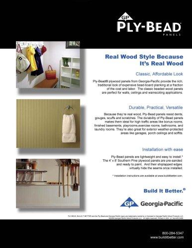 Plytanium Plywood:Ply-Bead Panels