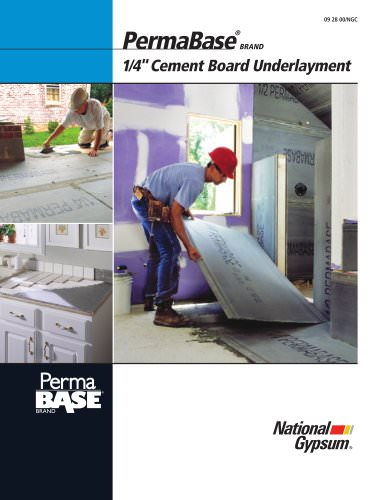 """1/4"""" PermaBase Cement Board Underlayment"""