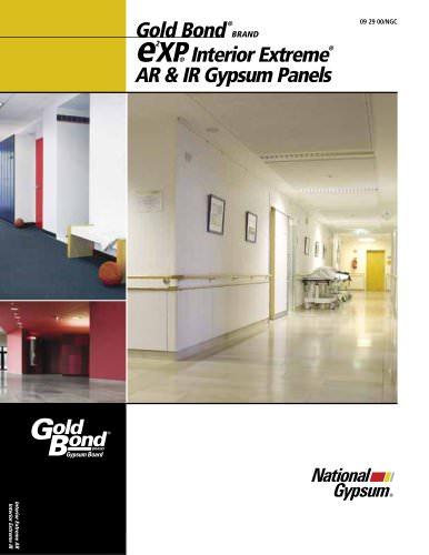 eXP Interior Extreme AR Gypsum Panels