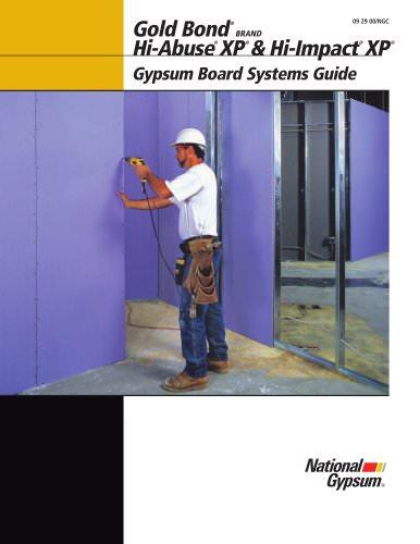 Hi-Abuse XP Gypsum Board