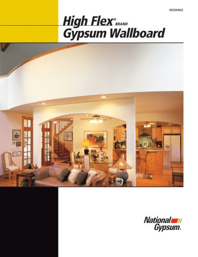 High Flex Gypsum Board