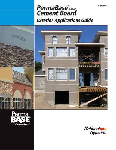 PermaBase for use in Exterior Applications Guide