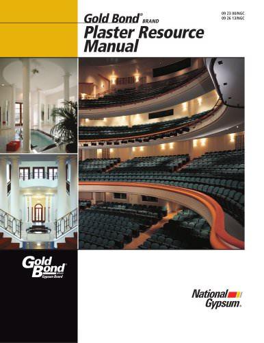 Plaster Resource Manual