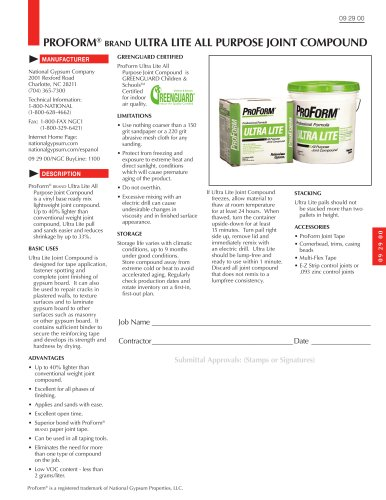 ProForm Ultra Lite All Purpose Joint Compound