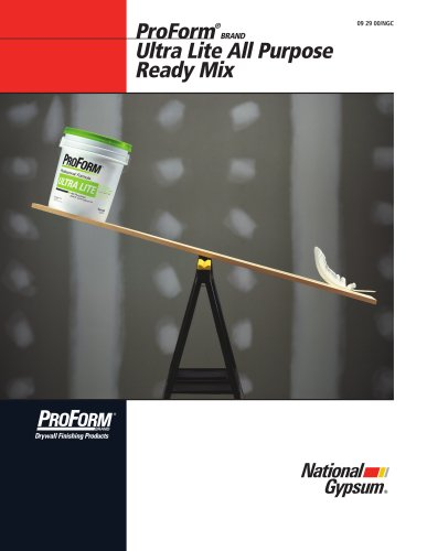 ProForm Ultra Lite All Purpose Joint Compound Ready Mix