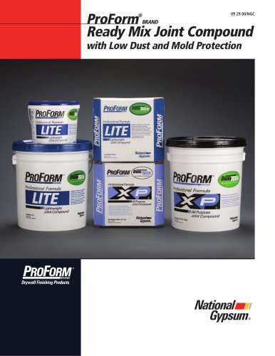 ProForm XP Joint Compound with Dust-Tech