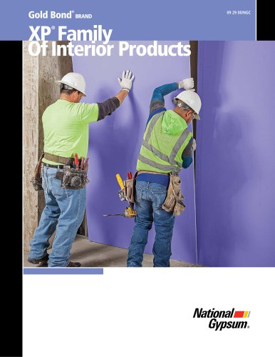 XP® Family Of Interior Products